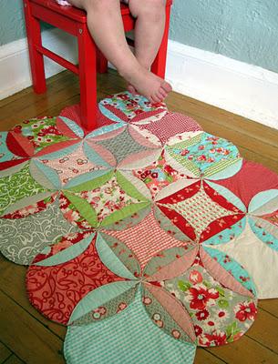 El taller de bielisa alfombra de patchwork - Alfombra patchwork ...