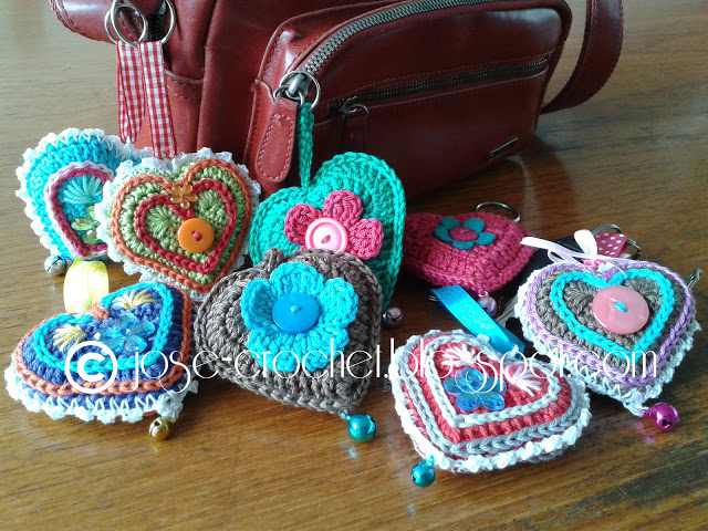 Me encanta este corazón de ganchillo… José Crochet